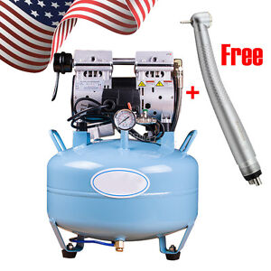 Medical Dental Noiseless Oil Free Oilless Silent Air Compressor Equipment Chair