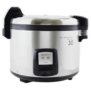 1 Commercial Thunder Group Sej3201 Electric Rice Cooker Warmer 60 Bowl Cook Rice