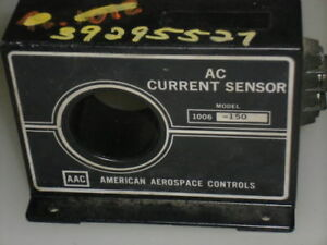 American Aerospace Controls Ac Current Sensor 1006 150 used