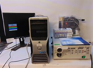 Pentax Video Processor Epk 1000 With Dell T3500 Monitor Accessories S3816