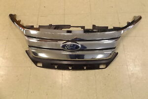 Aftermarket Capa Upper Front Grille For 2011 Ford Fusion Lkq