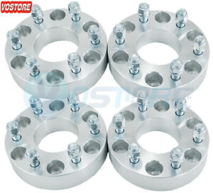 4pc 1 5 6x5 5 To 6x135 Wheel Spacers Adapters 14x1 5 Studs For Chevy To Ford