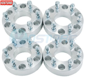 4 2 8 Lug Wheel Spacers Adapters 8x6 5 Fits Chevy Dodge Ram W250 9 16 Studs