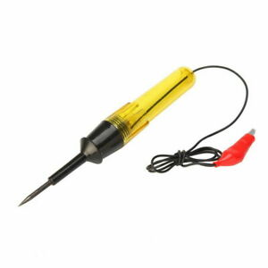 Car Truck Circuit Fuse Voltage Tester Test Light Probe Pen Pencil Dc 6v 12v 24v