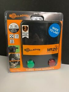 M120 Gallagher Fence Energizer