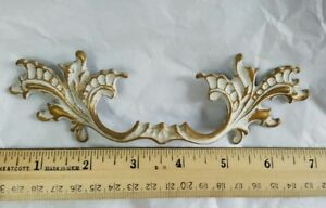 Large French Provincial Scrolly Drawer Pull Handle Vintage Hardware Hw10