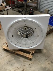 Huntair Inc 5 Hp Motor Industrial Blower Fan Hd Squirrel Cage New 36 X 36