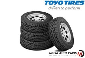 4 New Toyo Open Country A T Ii P255 70r17 110s All Terrain On Off Road Tires