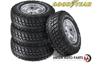 4 Goodyear Wrangler Mt R W Kevlar 3211 50r15lt 113q C All Terrain Mud Tires