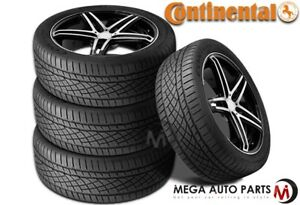 4 New Continental Extremecontact Dws06 225 45zr17 91w Tires