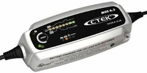 Ctek 56 864 Mus 4 3 8 Amp 12 Volt Fully Automatic 8 Step 12v Battery Charger