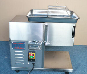 400kg h Tabletop Automatic Meat Cutting Machine Commercial Beef Pork Slicer 220v