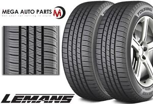 2 Lemans Touring As Ii 215 65r16 98t Bw All Season Performance Tires Made In Usa