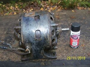 1903 Antique 1 2 Hp 1750 Rpm 1 Phase Century Electric Cast Iron Motor Runs