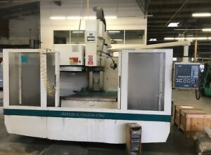 2004 Republic Lagun Vmc 4824 Cnc Vertical Machining Centers Fagor Control