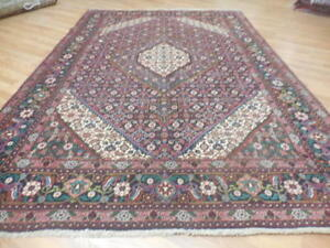 C1930 Vgdy Antique Afshari Fish Tabrizz Herati Bijar Bijdar 7x10 Estate Sale Rug