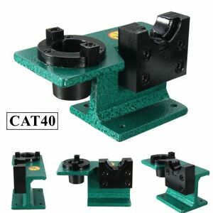 Cat40 Universal Cnc Tighten Tool Holder Tightening Fixture Clamping Green Usa