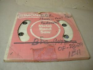 Simonds Metal Band Saw Blade 100 1 4