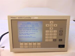 Waters 600s Hplc Controller Multisolvent Delivery System Wat055727 S3850