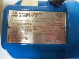 Endress hauser Micropilot M Fmr240 s2k1gnjaa4a Level Indicator new No Box