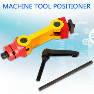 Universal Positioner Fixture Work Stop Locator For Milling Machine Adjustable Us