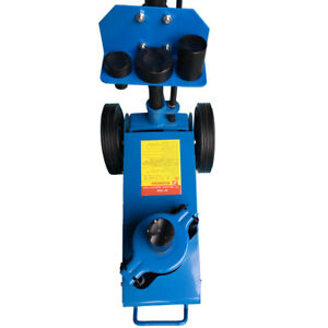 22 Ton Heavy Duty Air Hydraulic Floor Jack Truck Car Lift Repair Stand Tool Blue