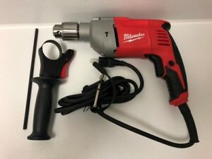 Milwaukee 8 Amp Corded Electric 1 2 In Hammer Drill Driver 5376 20 lp2077038