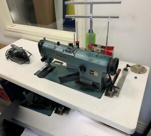 Heavy Duty Commercial Industrial Sewing Machine With Iron And Stand