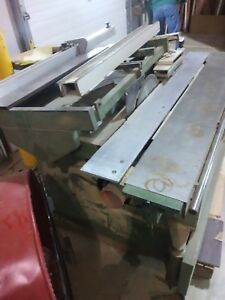 Griggio Industrial Panel Saw Manual woodworking Machinery warranty