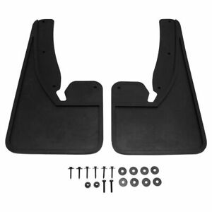 Oem Black Molded Rubber Front Mud Flap Lh Rh Kit Pair Set Of 2 For Ram Truck New