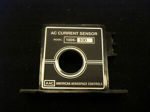 New American Aerospace Cotnrols 1055 100 Ac Current Sensor