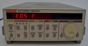 Keithley 428 man Manual Current Amplifier Amp