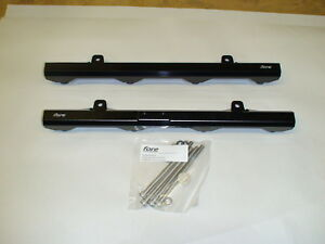 Fore Innovations Billet Black Fuel Rails For 11 17 Mustang Gt 5 0 Dohc Coyote