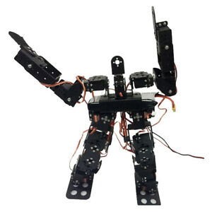 17 Degrees Of Freedom Classic Humanoid Dance Robot Bipedal Walking Robots