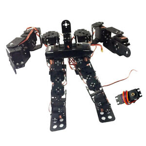 17 Degrees Of Freedom Classic Humanoid Dance Robot Bipedal Walking Robot New