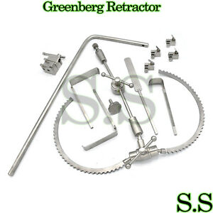 Greenberg Retractor Surgical Instruments Rt 1011
