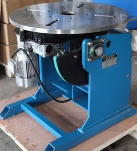 Lacroix Welding Positioner 1300lbs 600kg Capacity Full Rotation