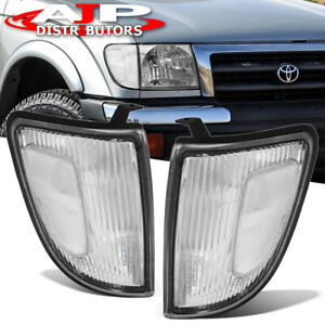 For 97 2000 Toyota Tacoma 2wd Truck Clear Front Bumper Corner Lights Replacement