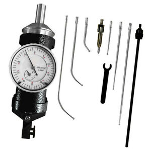 Co ax Coaxial Centering Test Dial Indicator Set For Milling Machine black