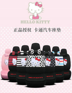 2019 New Listing New Hello Kitty Car Seat Cushion Seat Cover Set