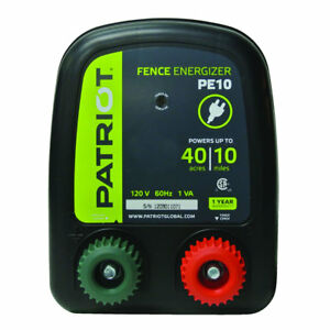 Patriot Pe10 Fence Energizer 0 30 Joule For Electric Fence