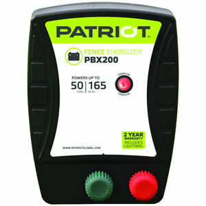 Patriot Pbx200 Battery Energizer 1 9 Joule For Electric Fence