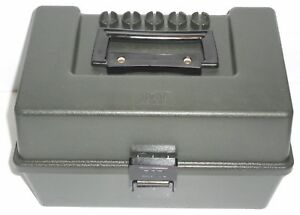 MTM Case 100 Shot Gun Ammo Box  12 gauge Made in USA