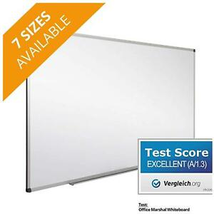 Office Marshal Professional Magnetic Dry Erase Board White Board Test Score