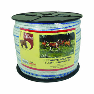 Field Guardian 1 5 White Polytape Classic Reinforced 636300 814421010247