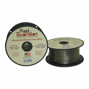 Field Guardian 14 Ga Aluminum Wire 120 Electric Fence Af14120 814421012548