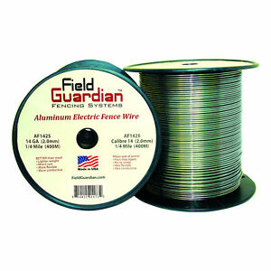 Field Guardian 14 Ga Aluminum Wire 1 4 Mile Electric Fence Af1425 814421011732