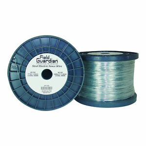 Field Guardian 17 Ga Galvanized Steel Wire 1 4 Mile usa Sf1725 814421011824
