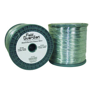 Field Guardian 14 Ga Galvanized Steel Wire 1 4 Mile usa Sf1425 814421011848