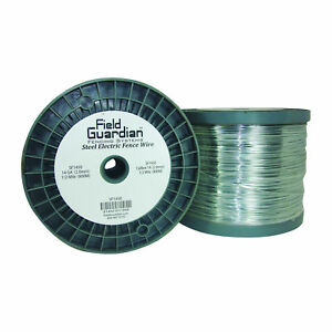 Field Guardian 14 Ga Galvanized Steel Wire 1 2 Mile usa Sf1450 814421011855